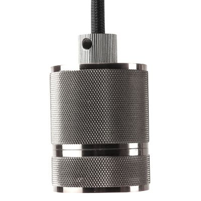 Pendente Bella DA002C Socket 1L E27 Bivolt Ø4,8x6cm Cromado