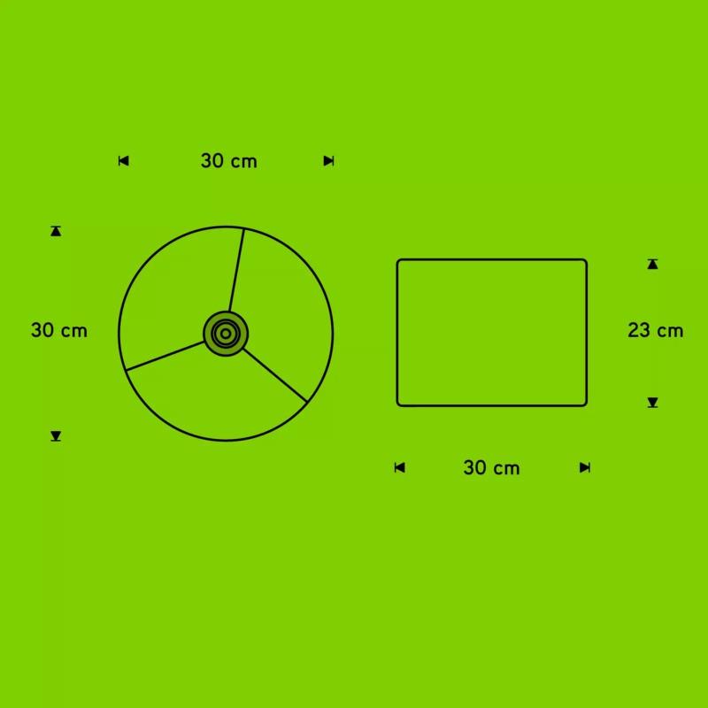 Pendente Carambola PCSS Cross 1L E27 Bivolt 230x300x300mm