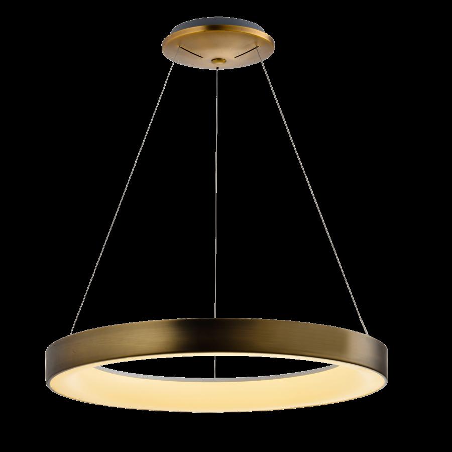 Pendente LED Mantra 30512 Sacris Gold 50W 3000K Bivolt Ø650x150mm - Ouro Velho