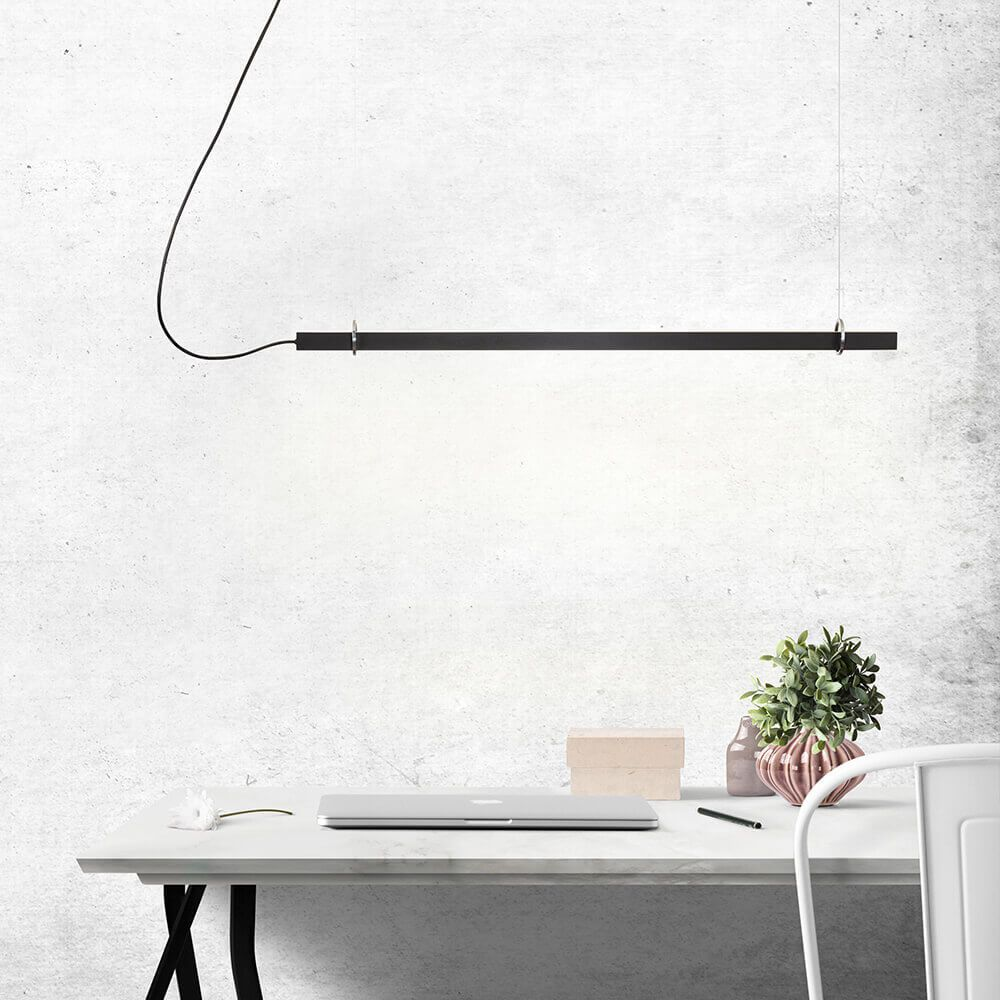 Pendente LED Newline 661LED4 Fit 24W 4000K Bivolt 860x25x28mm