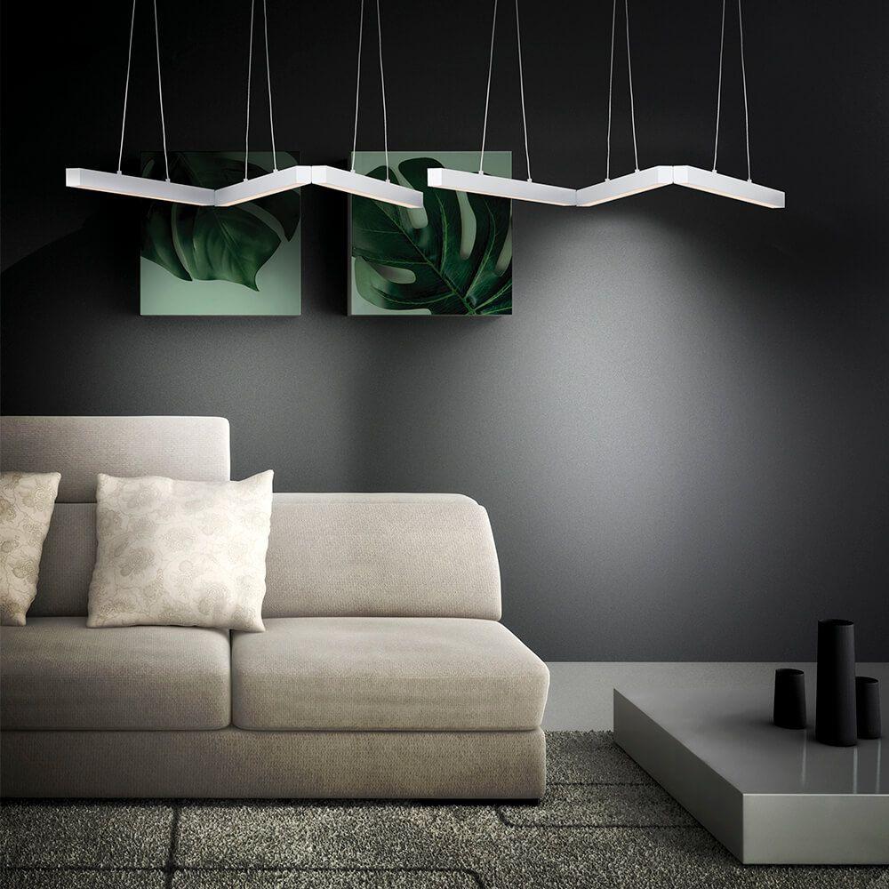 Pendente LED Newline 725LED4 Fit 16W 4000K Bivolt 580x580x28mm