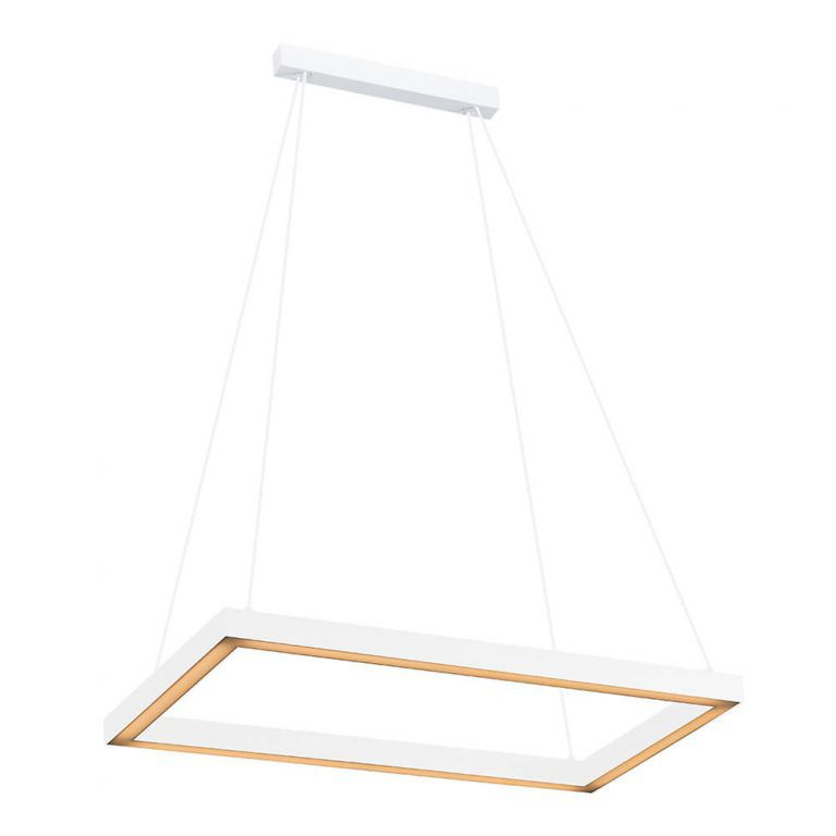 Pendente LED Newline 743LED3 Fit 18,9W 3000K Bivolt 550x290x28mm