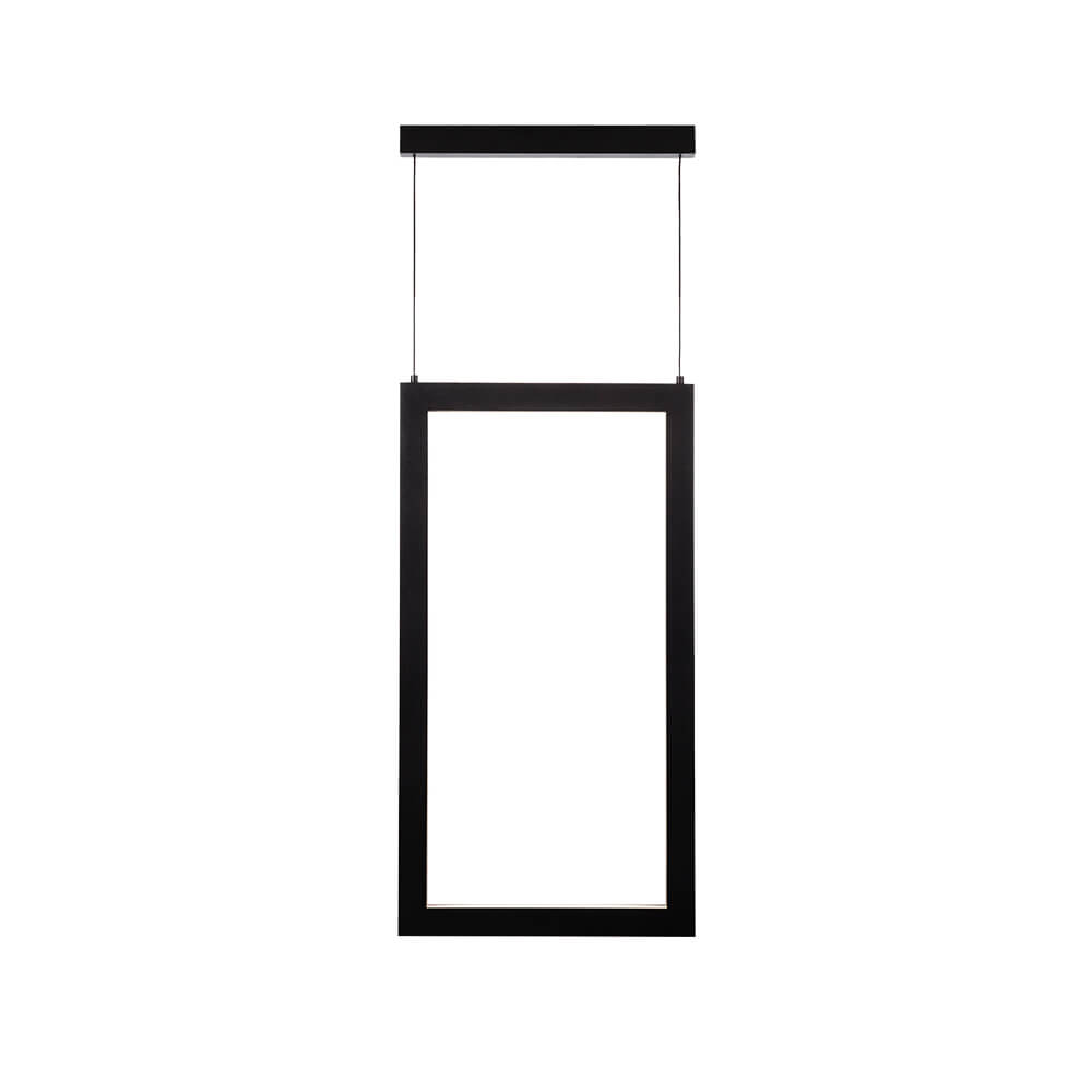 Pendente LED Newline 755LED3 Fit 18,9W 3000K Bivolt 295x550x28mm