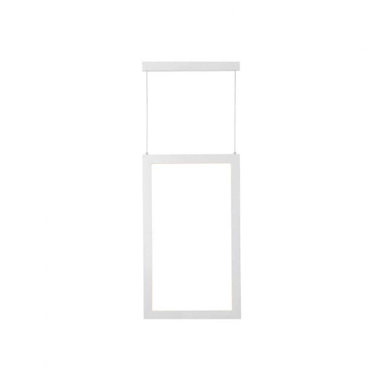 Pendente LED Newline 755LED4 Fit 18,9W 4000K Bivolt 295x550x28mm