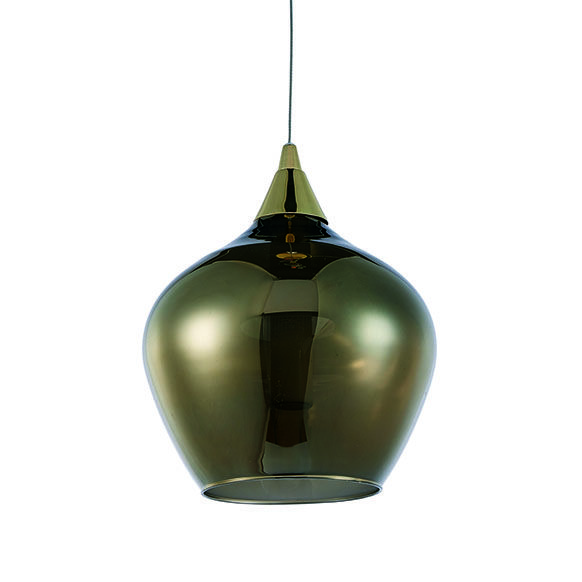 Pendente LED Casual Light Quality PD1146 Mya 3W 3000K Bivolt  Ø200x230mm Dourado