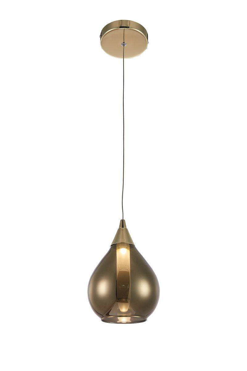 Pendente LED Casual Light Quality PD1147 Mya 3W 3000K Bivolt  Ø150x200mm Dourado
