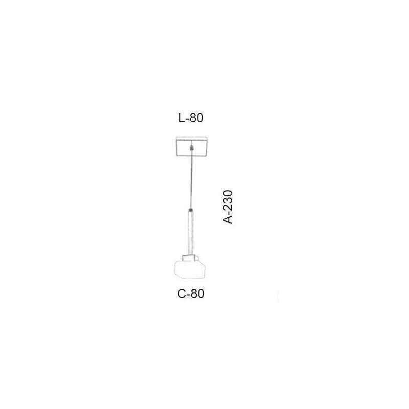 Pendente Led Old Artisan PD-5398 5.5W 2700K 220V 230x80x80mm