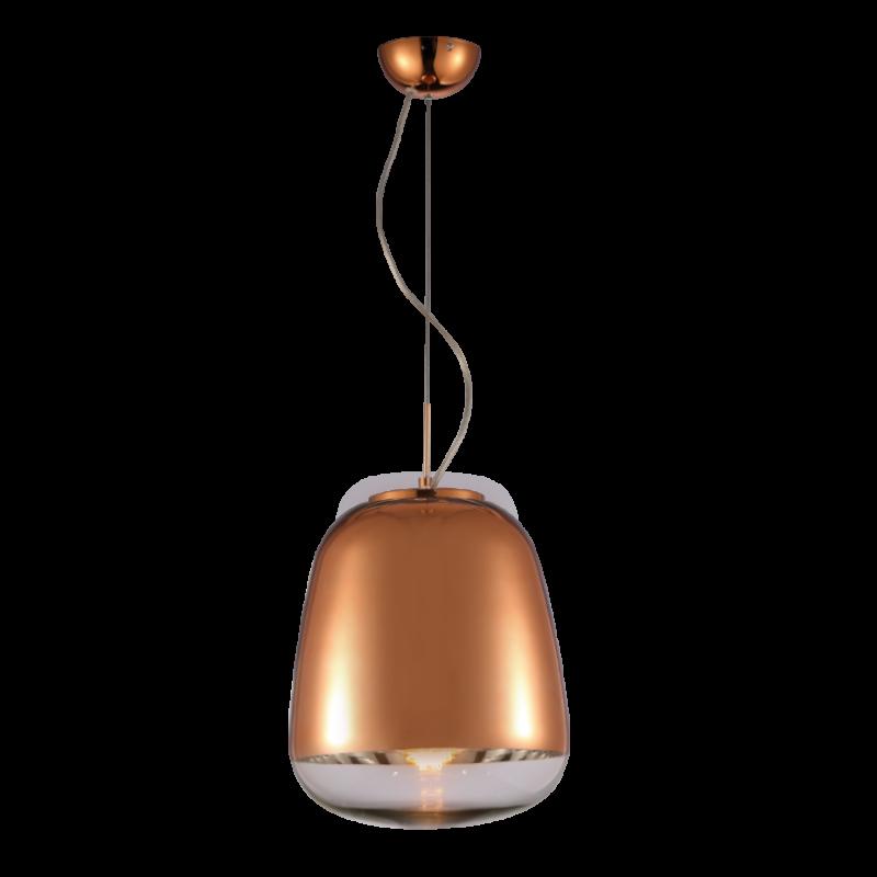 Pendente Mantra 30256 Zorah 1L E27 Ø330x550mm - Bronze