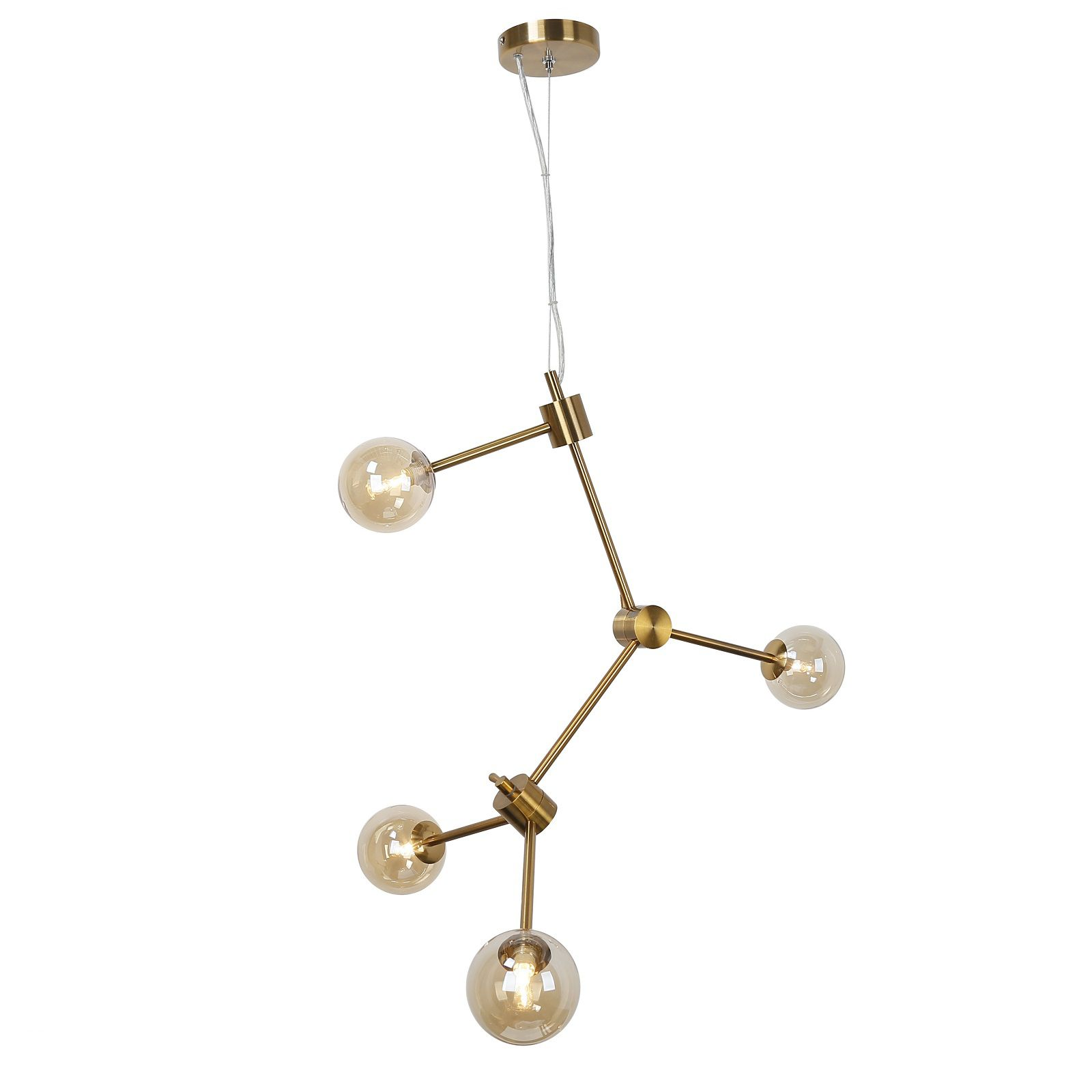 Pendente Casual Light Quality PD985 Link 4L G9 620x710x810mm Bronze