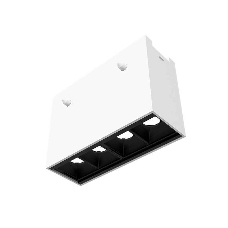 Pendente para Embutir LED Newline EM0381LED3 4W 4 Fachos 10º 3000K Bivolt 80x110x40mm