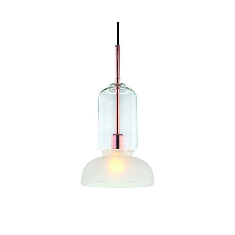Pendente Casual Light Quality PD1249-CO Jessy 1L E27 Ø220x485mm Cobre