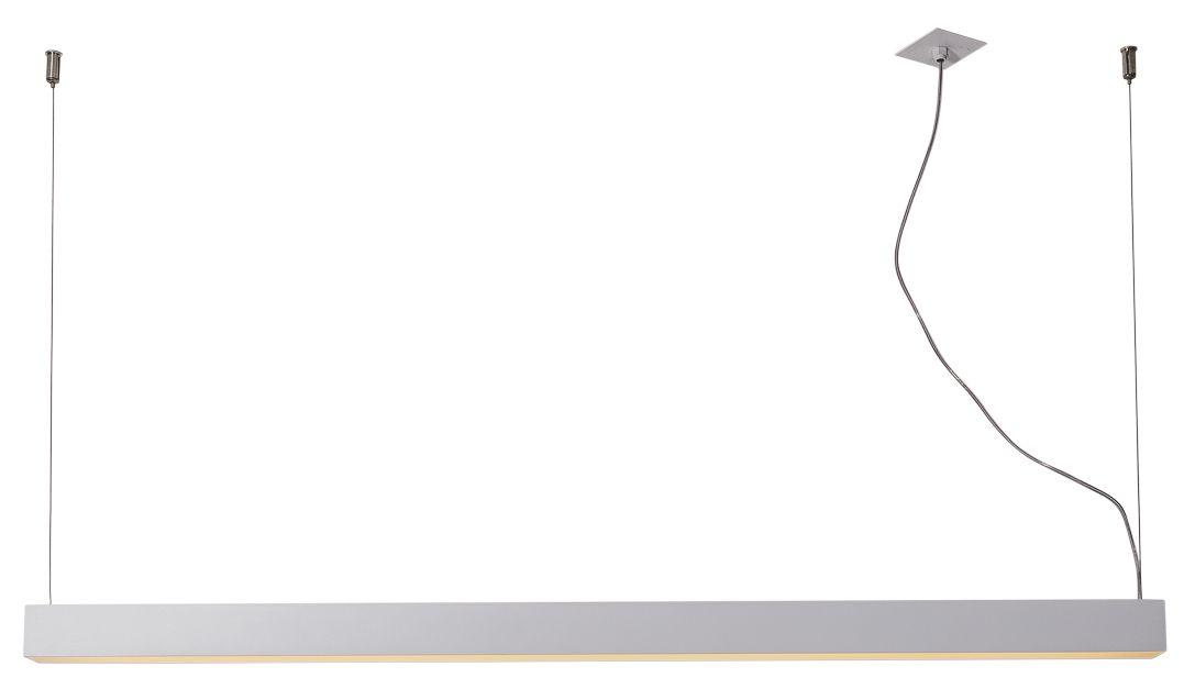 Pendente Usina 16361/251 Régua Nazca Iluminação Direta 2L Tubular 120cm T8 49x2500x47mm