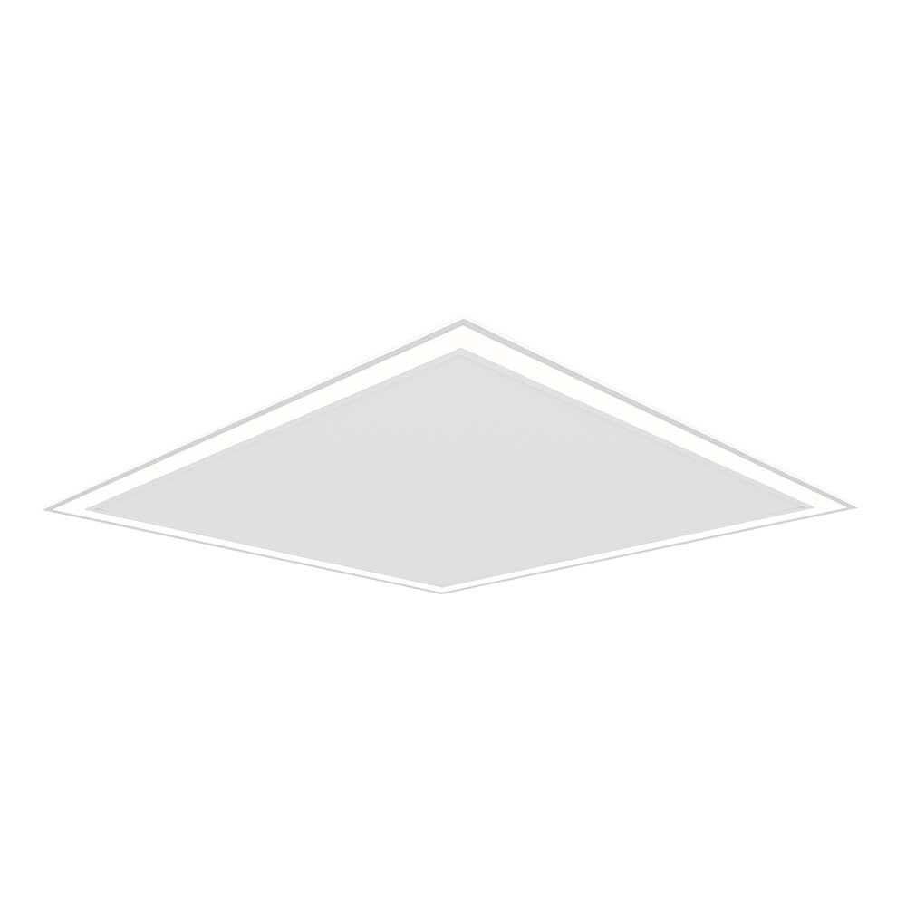Perfil Embutir LED Newline EM0124LED3 Fit Edge 32W 3000K Bivolt 616x616x40mm