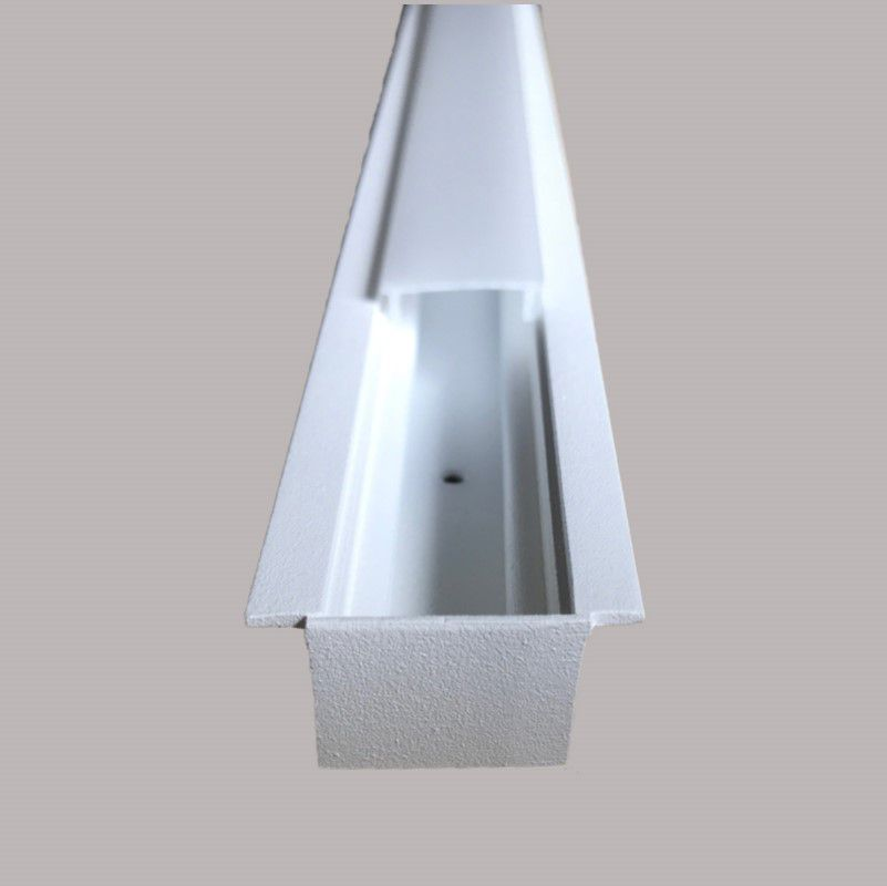 Perfil Embutir para Fita LED Usina 30030/150 Garbo 150cm 1500x34x17mm