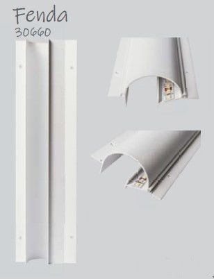 Perfil Embutir para Fita LED Usina 30660/150 Fenda No Frame 150cm 83x1500x40mm