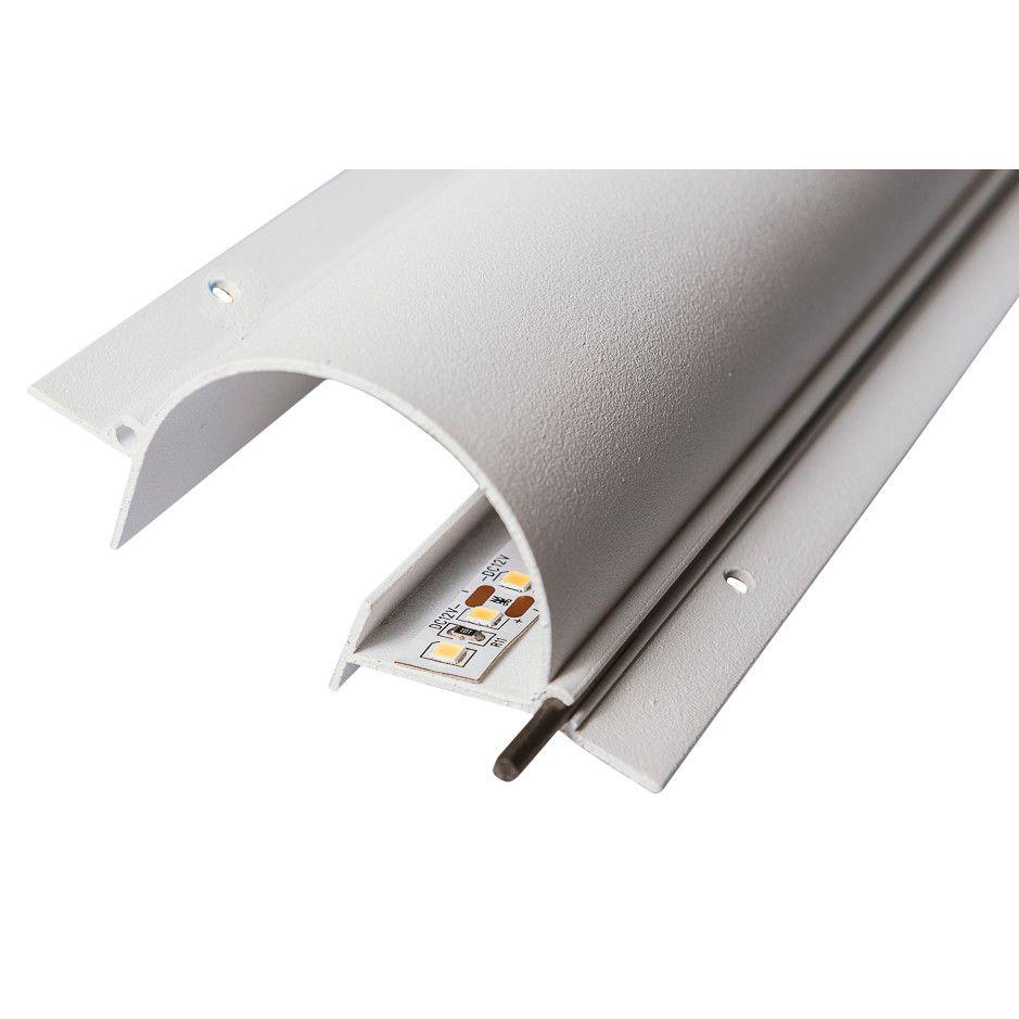 Perfil Embutir para Fita LED Usina 30660/150 Fenda No Frame Iluminação Indireta 150cm 83x1500x40mm