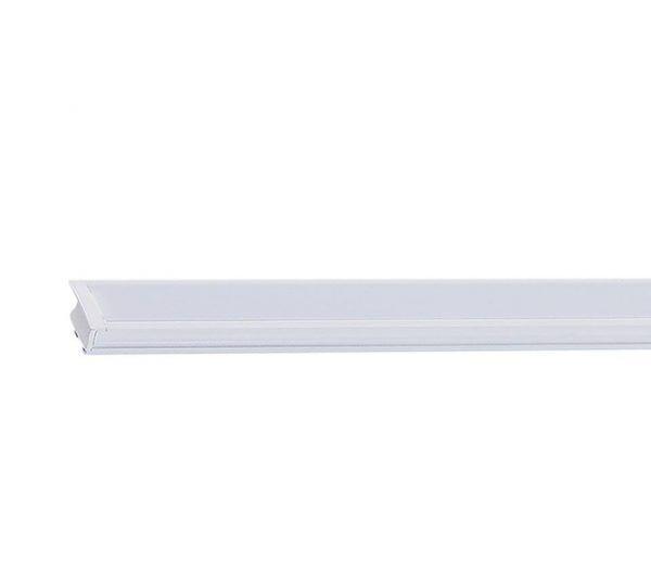 Perfil Embutir LED Brilia 302068 Alto IRC 2000mm 28W 2700K 120G 24V
