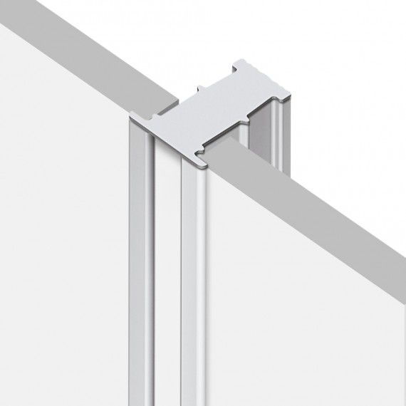 Perfil Embutir Linear LED MisterLED SLED9012 R6 12W/M 12V 2700K IP20 6x25mm - Branco