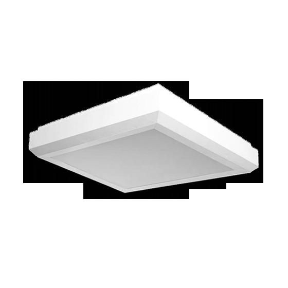 Plafon Incolustre 898.31 Up Slim 3L E27 300x300x80mm Branco