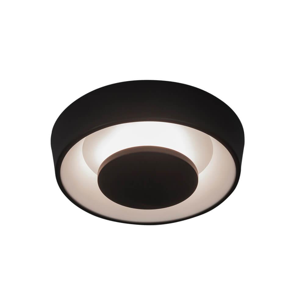 Plafon LED Newline 450LED1 Iris Sobrepor 18W 2700K 127V Ø350x102mm