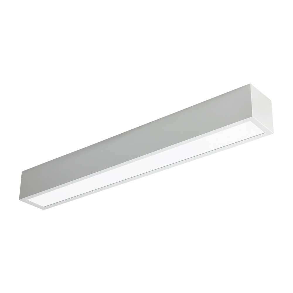 PLAFON LED NEWLINE 460LED4 SOBREPOR V 16W 4000K BIVOLT 600X75X70MM