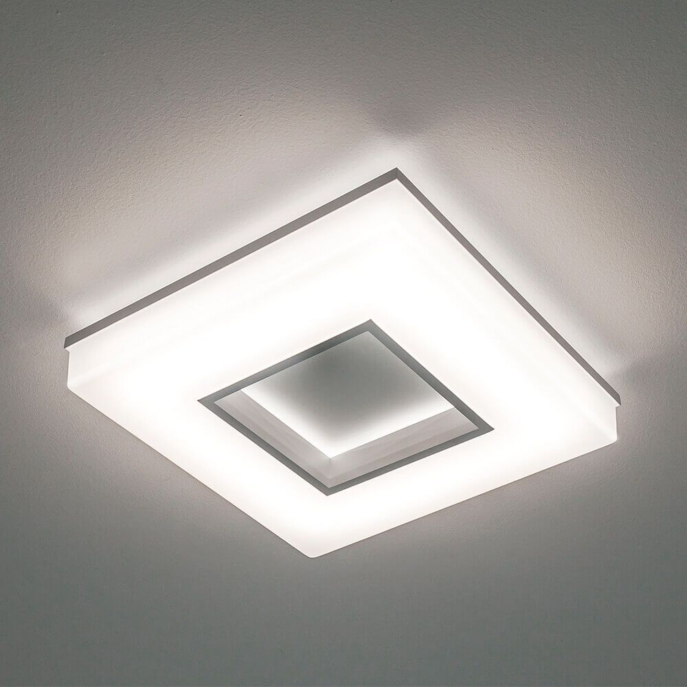 Plafon LED Newline 491LED3 Pixel 25,2W 3000K Bivolt 350x350x70mm