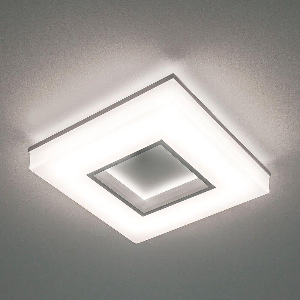 Plafon LED Newline 491LED4 Pixel 25,2W 4000K Bivolt 350x350x70mm