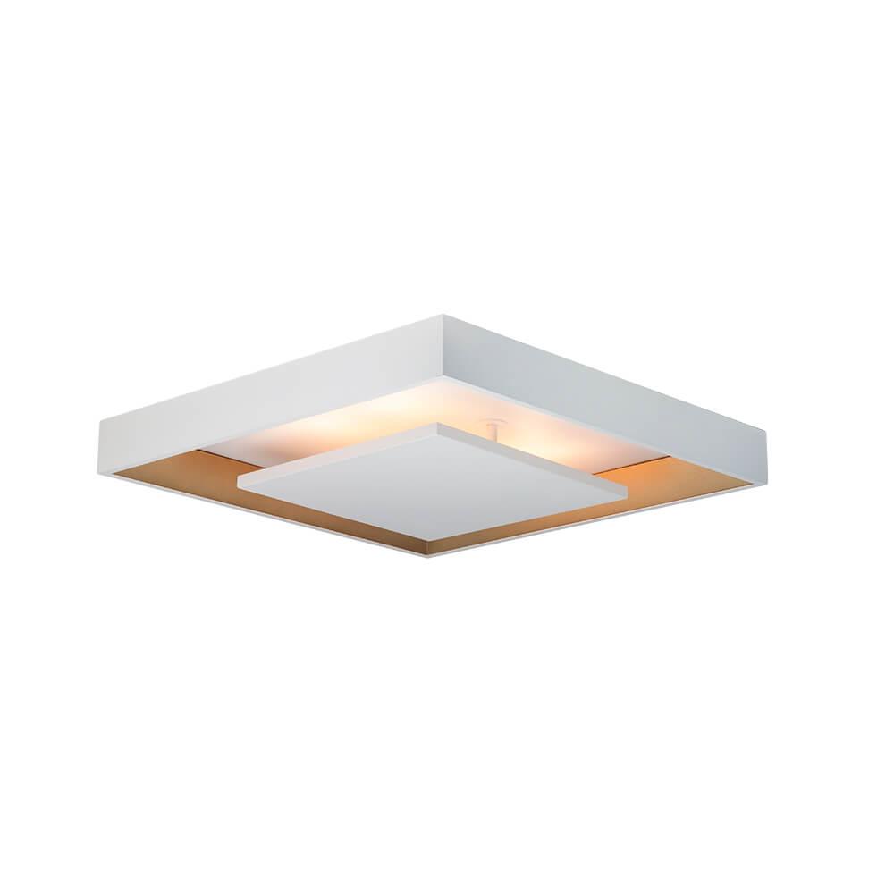Plafon Sobrepor LED Newline  New Picture 16,8W 3000K Bivolt 470x470x87mm