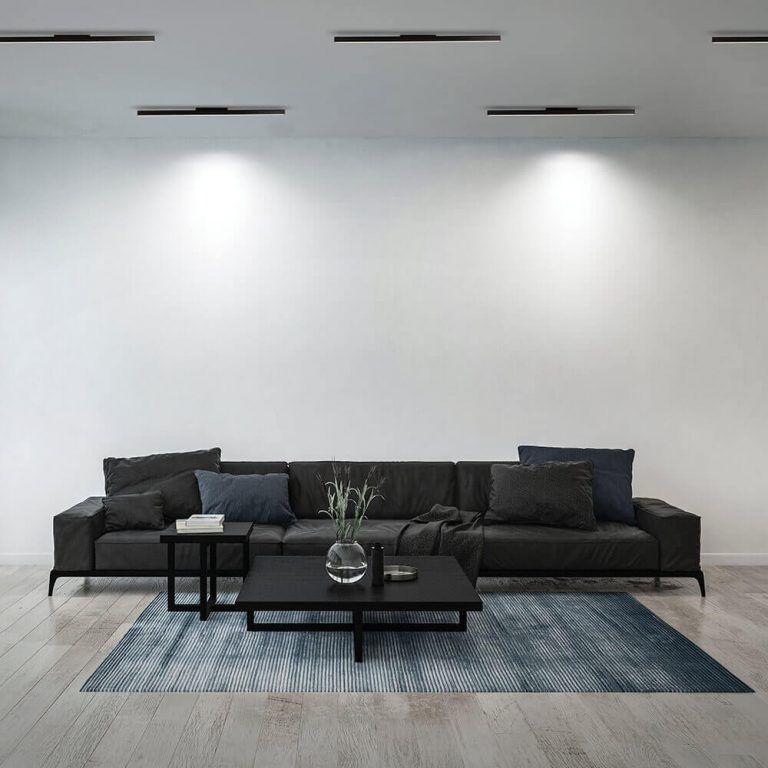 Plafon LED Newline 632LED3 Fit Sobrepor 32W 3000K Bivolt 1140x25x57mm