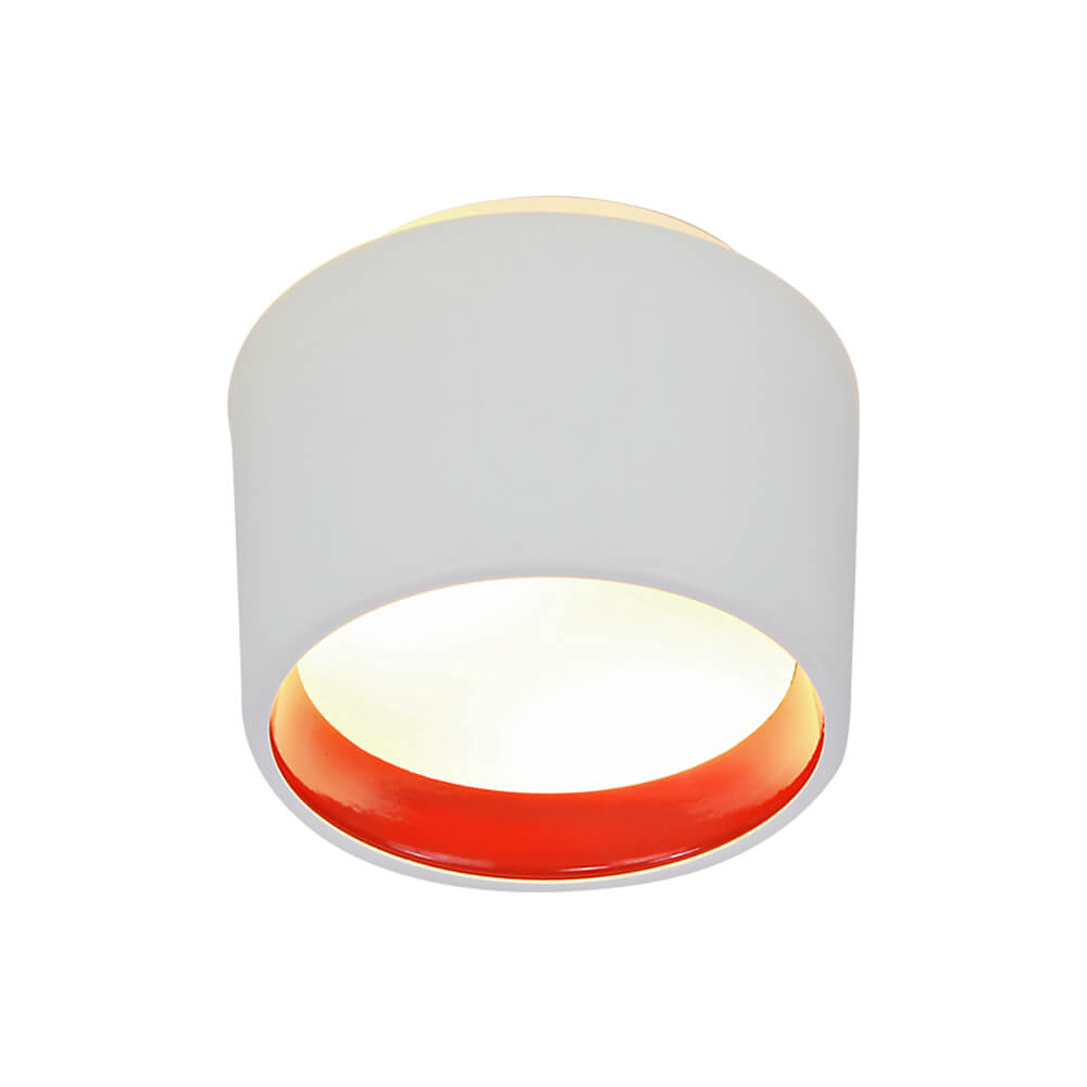 Plafon Newline SN10150 Circle Sobrepor C/ Difusor 2L E27 Ø110x160mm