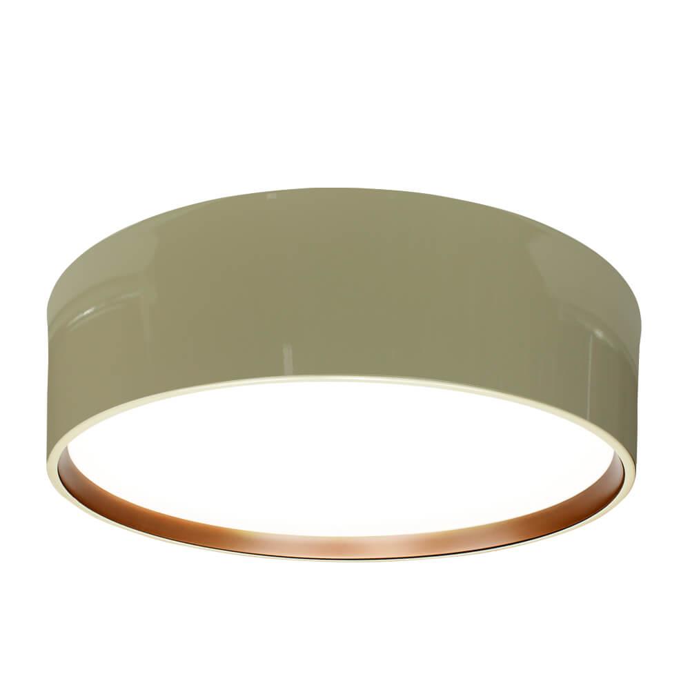 Plafon Newline SN10152 Circle Sobrepor C/ Difusor 6L E27 Ø530x165mm