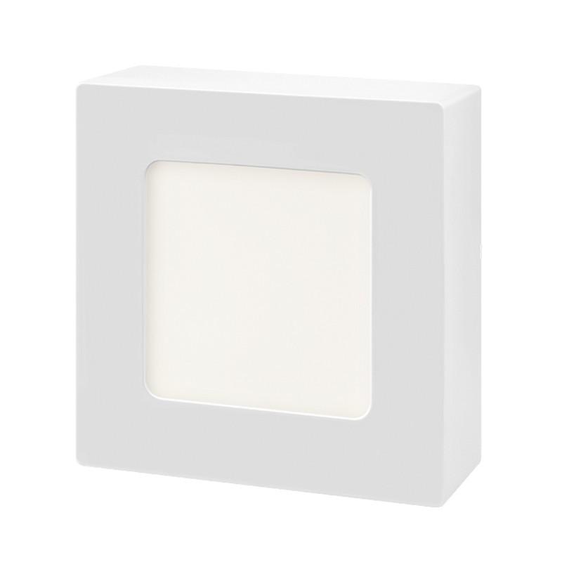 Plafon Sobrepor LED Quadrado Gaya 9941 6W 4000K IP20 Bivolt 110x110mm