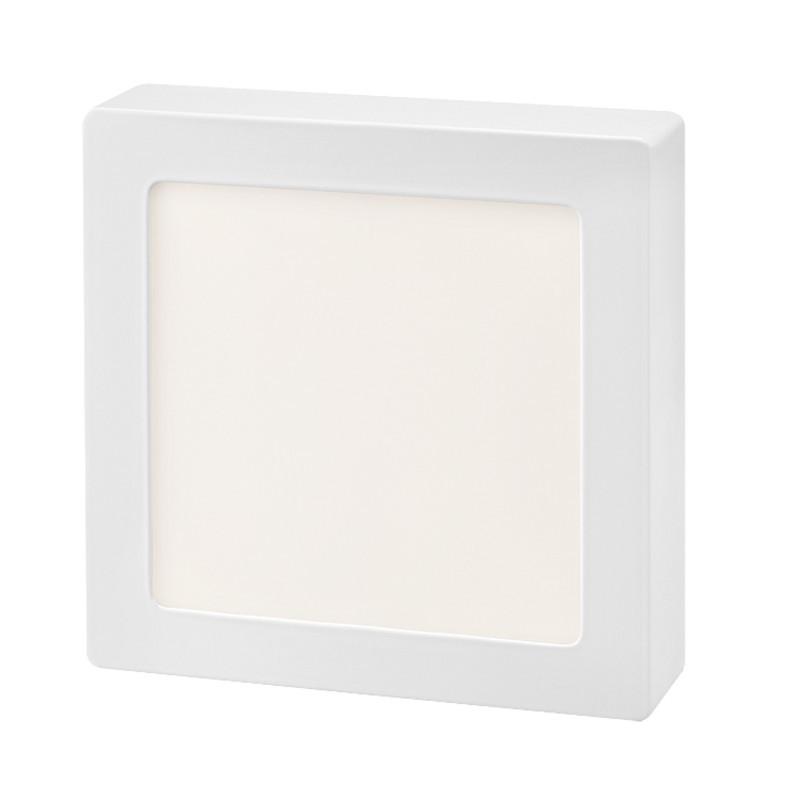 Plafon Sobrepor LED Quadrado Gaya 9946 12W 3000K IP20 Bivolt 110x110mm
