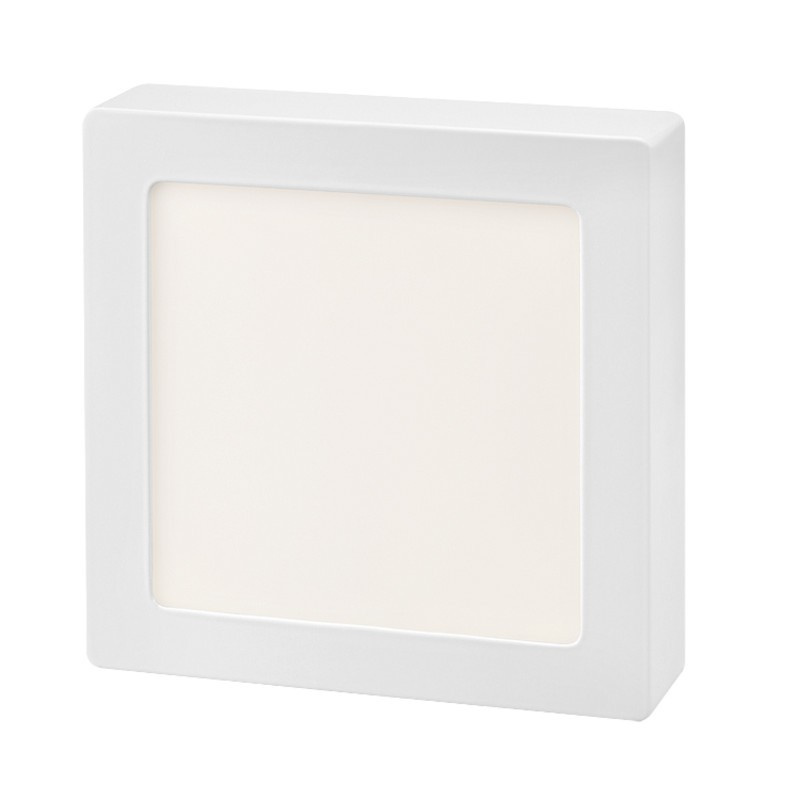 Plafon Sobrepor LED Quadrado Gaya 9948 12W 6000K IP20 Bivolt 155x155mm