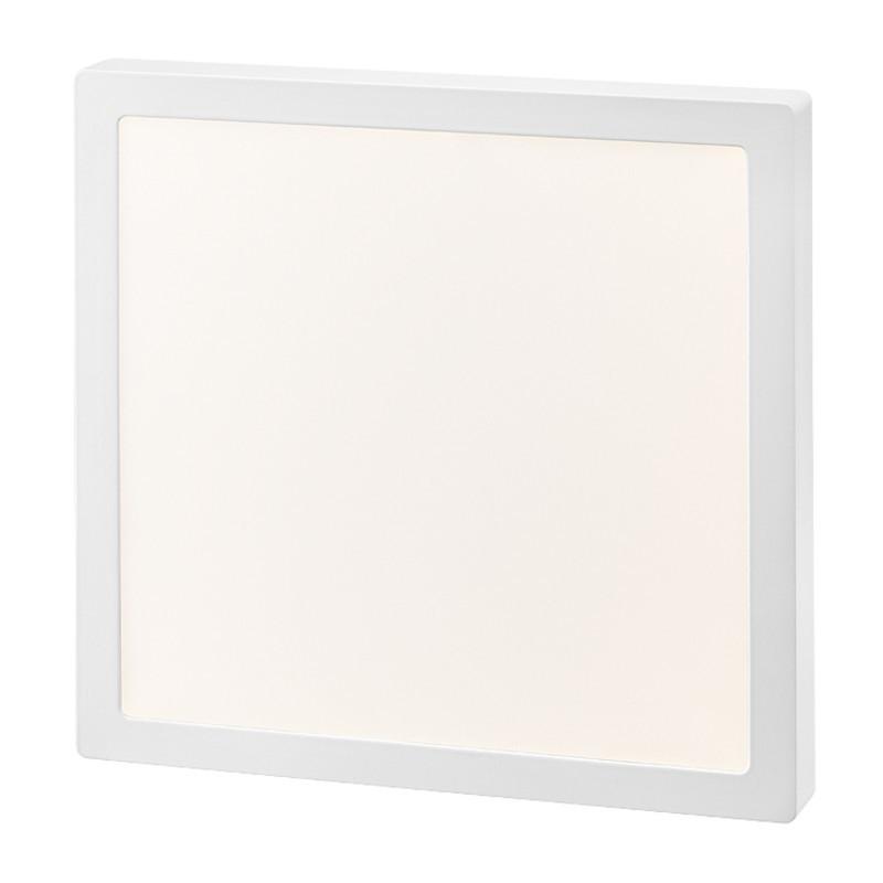 Plafon Sobrepor LED Quadrado Gaya 9958 24W 3000K IP20 Bivolt 285x285mm