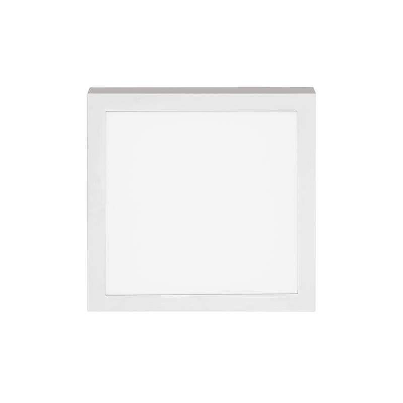 Plafon Sobrepor LED Stella STH8964Q/30 Quadrado 24W 3000K 112G Bivolt 300x300x32mm - Branco
