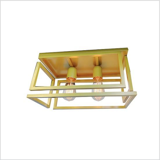 Plafon Tupiara 300/2-PL Cube 2L E27 400x200mm