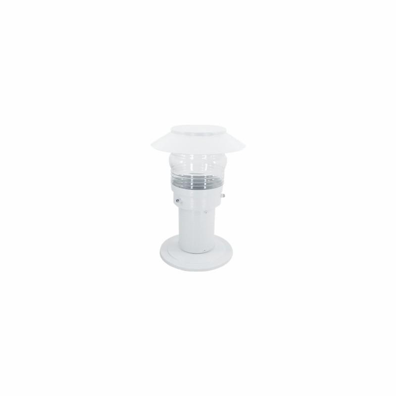 Poste Balizador DM Lumi 219 Timoneiro com Chapéu 1L E27 Ø180x1000mm