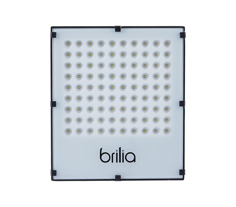 Projetor LED Brilia 303126 IP65 100W 6500K 74G Bivolt
