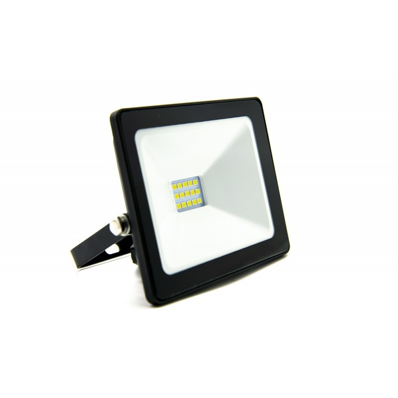 Refletor LED Ecoforce 18370 Compacto 10W 3000K Bivolt IP65 90x110x25mm