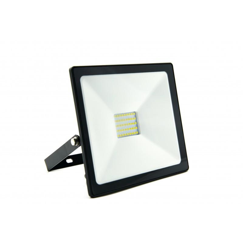 Refletor LED Ecoforce 18373 Compacto 30W 6500K Bivolt IP65 150x170x28mm