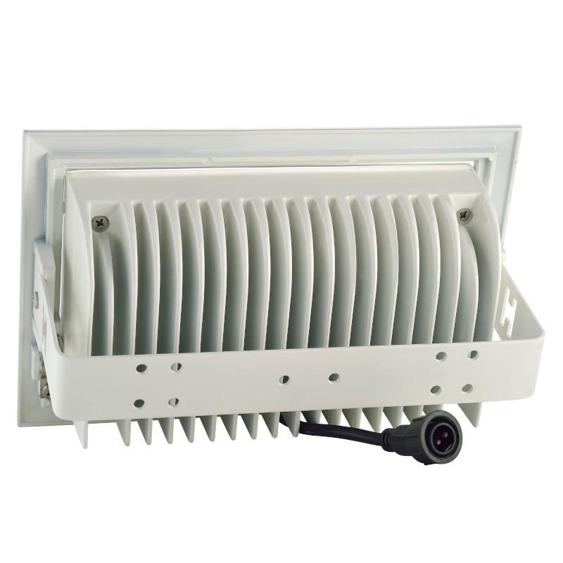 Refletor LED Gaya 9191 40W 5000k IP65 150x240x110mm Branco
