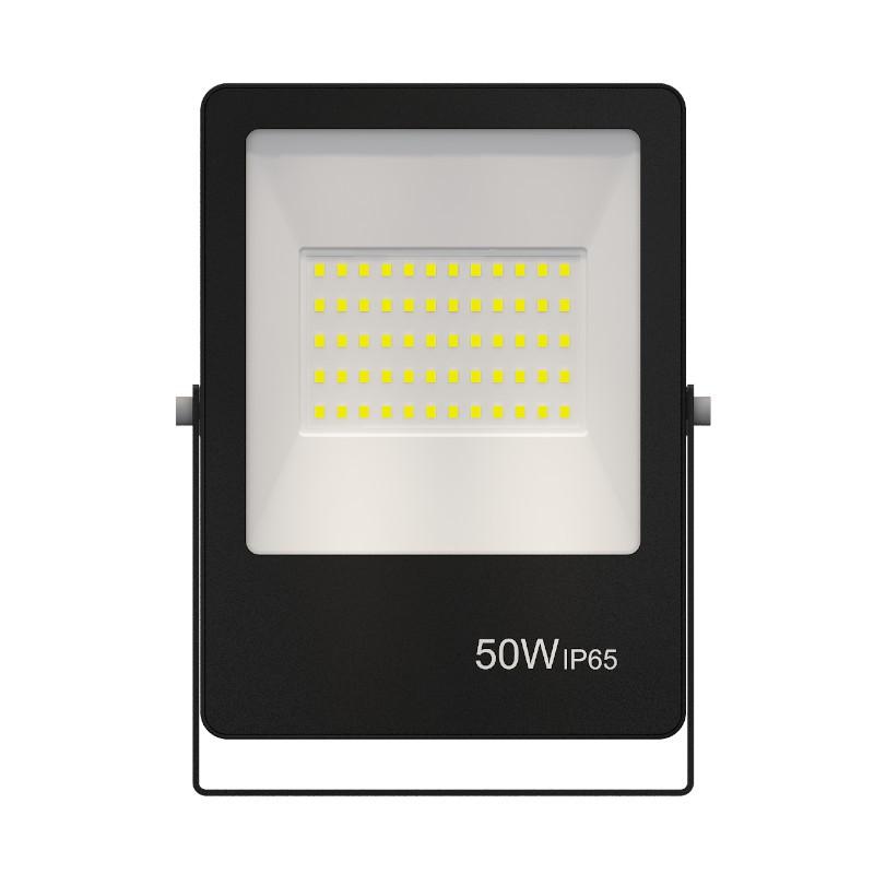 Refletor Ultrafino LED Gaya 9382 50W 6500k IP65 Preto