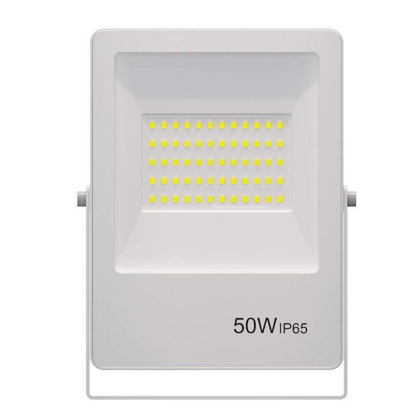 Refletor Ultrafino LED Gaya 9386 50W 3000k IP65 Branco