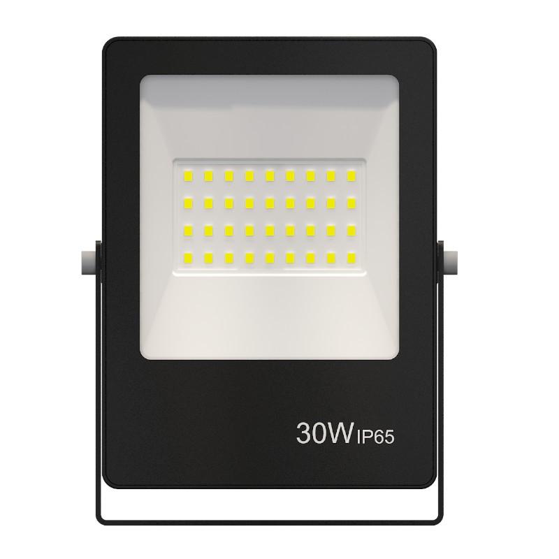 Refletor Ultrafino LED Gaya 9389 30W BIVOLT IP65 Preto