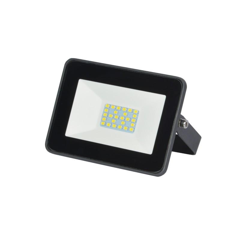 Refletor Ultrafino LED Gaya 9514 10W 6000K IP65 115x83x30mm Preto