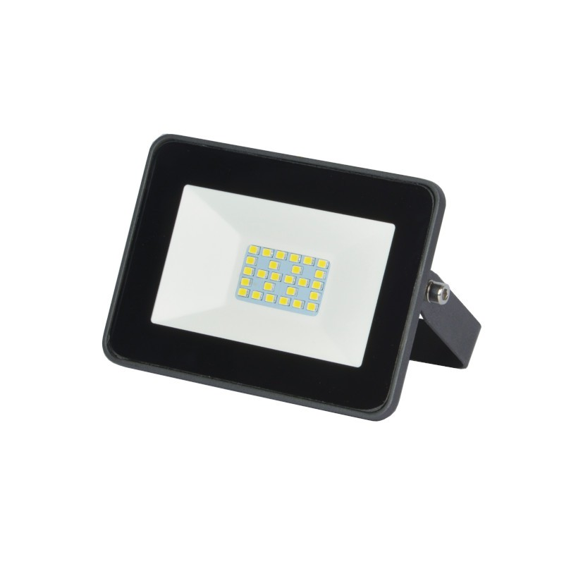 Refletor Ultrafino LED Gaya 9516 30W 6000K IP65 223x183x43mm Preto