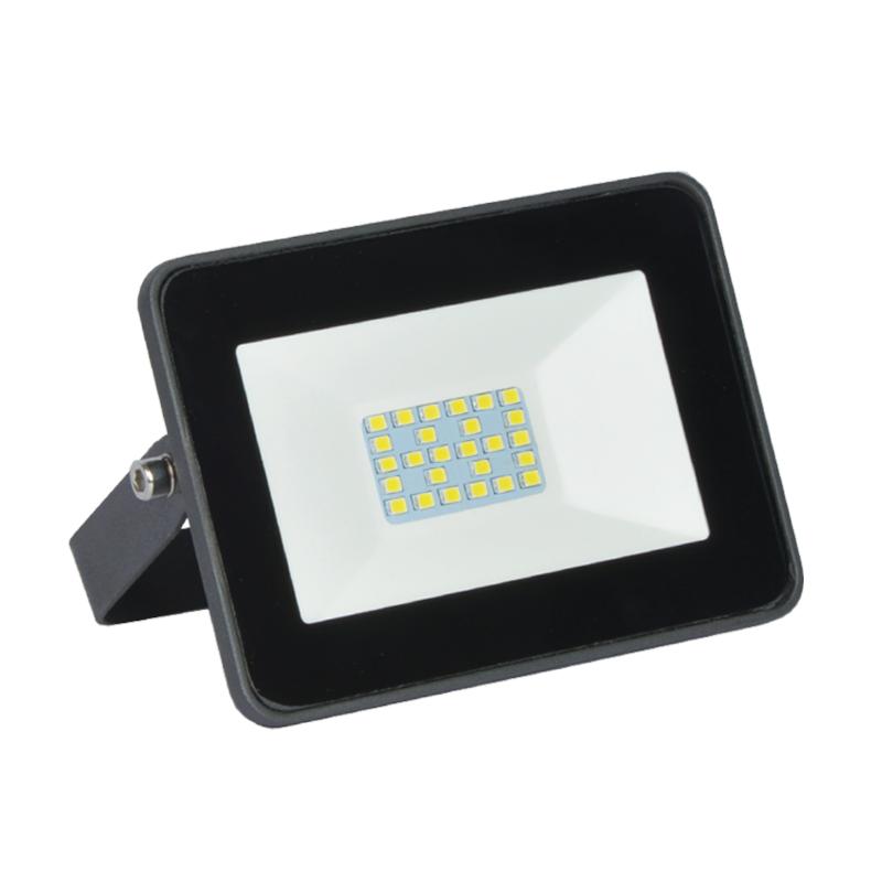 Refletor Ultrafino LED Gaya 9519 30W 3000K IP65 Preto