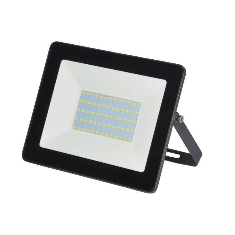 Refletor Ultrafino LED Gaya 9520 50W 3000K IP65 Preto