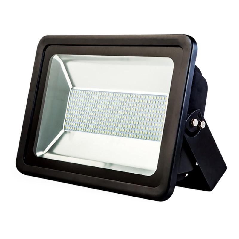 Refletor Ultrafino LED Gaya 9542 200W 6000K IP65 110x430x320mm Preto